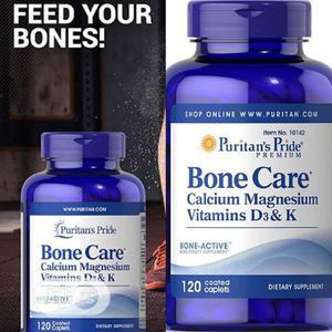 Puritans Pride Bone Care Calcium Magnesium Vitamin D3 K   Vitamins & Supplements for sale in Enugu State, Enugu