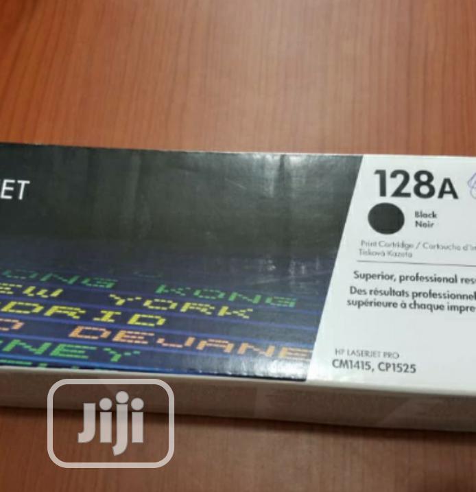 Archive: HP 128A Black Laserjet Cartridge