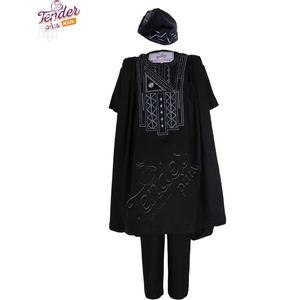 Tenderplus Kids Clothes-Boy Navy Blue Agbada With Embroidery   Children's Clothing for sale in Lagos State, Ojodu
