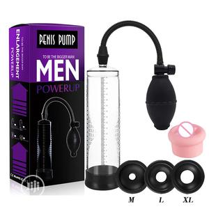 Penis Pump Enlargement Vacuum Dick Extender Men Device   Sexual Wellness for sale in Rivers State, Port-Harcourt