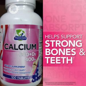 Pharma Care Calcium 600+D3 400iu for Bone and Colon Health   Vitamins & Supplements for sale in Enugu State, Enugu