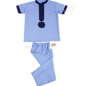 Traditional Wear-Sky Blue With Navy Blue Embroidery   Children's Clothing for sale in Lagos State, Ojodu
