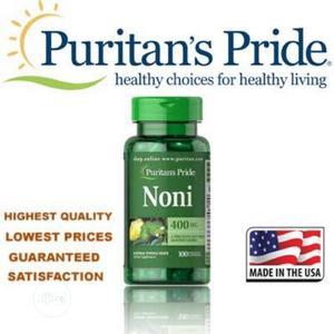 Puritans Pride Noni Skin Hair and Nail Potent Antioxidants | Vitamins & Supplements for sale in Enugu State, Enugu
