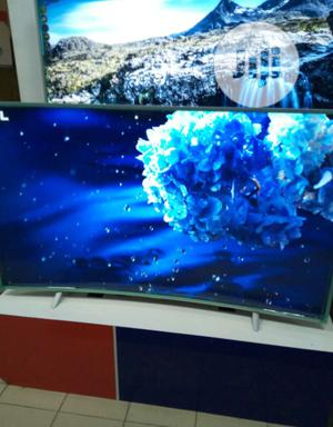 Polystar 65 Inches Curved Smart Television Quality | TV & DVD Equipment for sale in Lagos State, Magodo