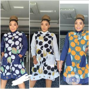 Quality Female Long Sleeve Flare Short Gown | Clothing for sale in Abuja (FCT) State, Central Business Dis