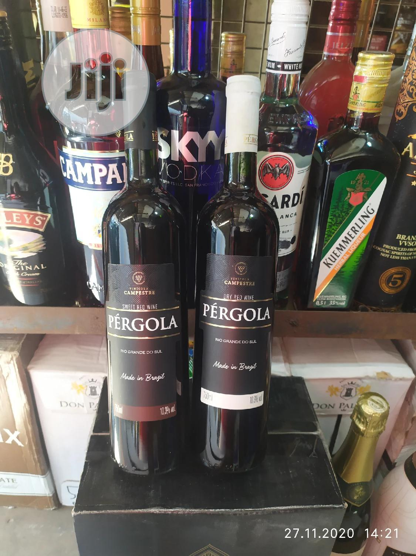 Pergola Red Wine