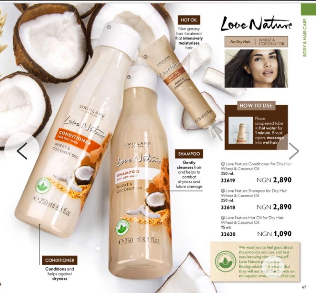 Archive: Love Nature Conditioner Wheat & Coconut Oil