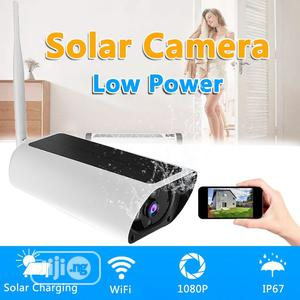Night Vision 1080P HD Solar Powered Wireless WIFI IP Camera | Security & Surveillance for sale in Lagos State, Ajah