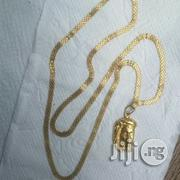 Pure ITALY 750 Tested 18krt Gold Carpet Wit Jesus Piece | Jewelry for sale in Lagos State