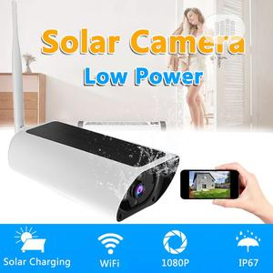 Wifi CCTV PIR Motion Outdoor Wireless Solar Powered Camera   Security & Surveillance for sale in Lagos State, Apapa