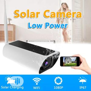 Solar Powered Wireless Wifi IP Camera | Security & Surveillance for sale in Lagos State, Ikeja
