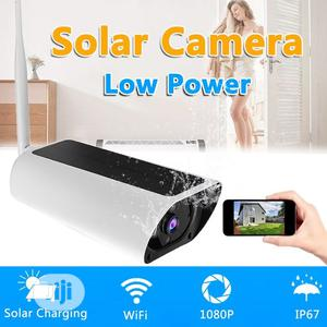 Outdoor Wifi IP Camera Solar Powered CCTV | Security & Surveillance for sale in Lagos State, Surulere