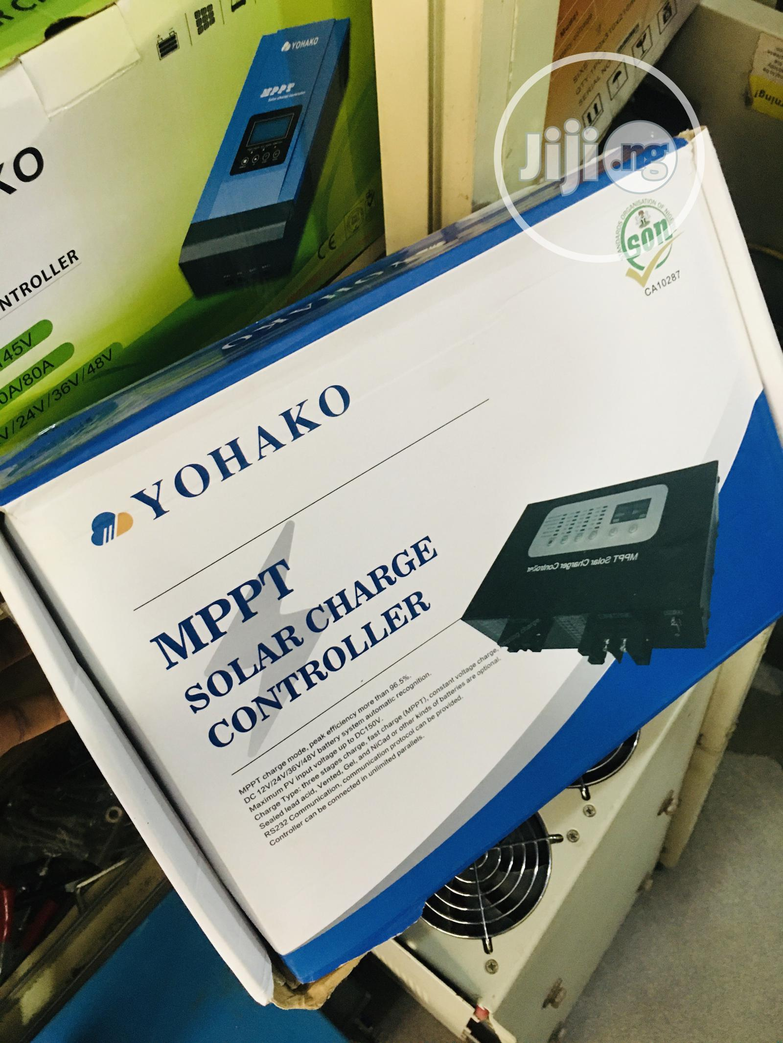Archive: 80ah 12/24/36/48volts Yohako Mppt Charger Controller