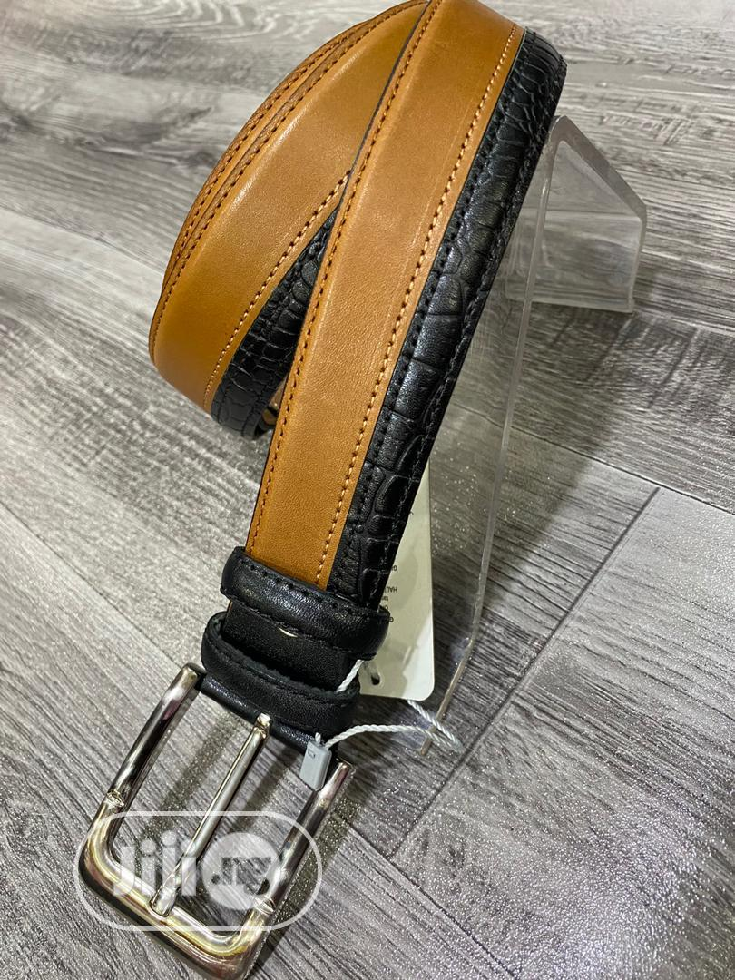 Archive: Regular Buckle Head Pure Leather Belts