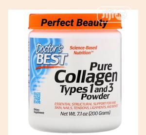 Doctor's Best Pure Collagen Types 1 3 Powder 7.1oz 200g   Vitamins & Supplements for sale in Lagos State, Ikeja