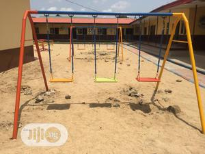 Three Seater Children Swing Playground   Toys for sale in Lagos State, Agege