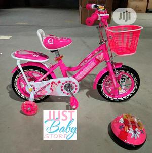 Pink 12inches Children Bicycle   Toys for sale in Lagos State, Ajah