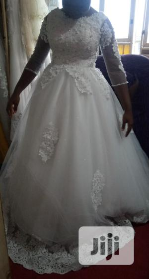 Ball Wedding Gown(White/Ivory) | Wedding Wear & Accessories for sale in Lagos State, Ipaja