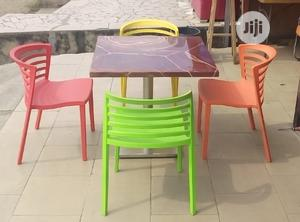 Quality Marble Top Restaurant Table and Chairs | Furniture for sale in Lagos State, Badagry