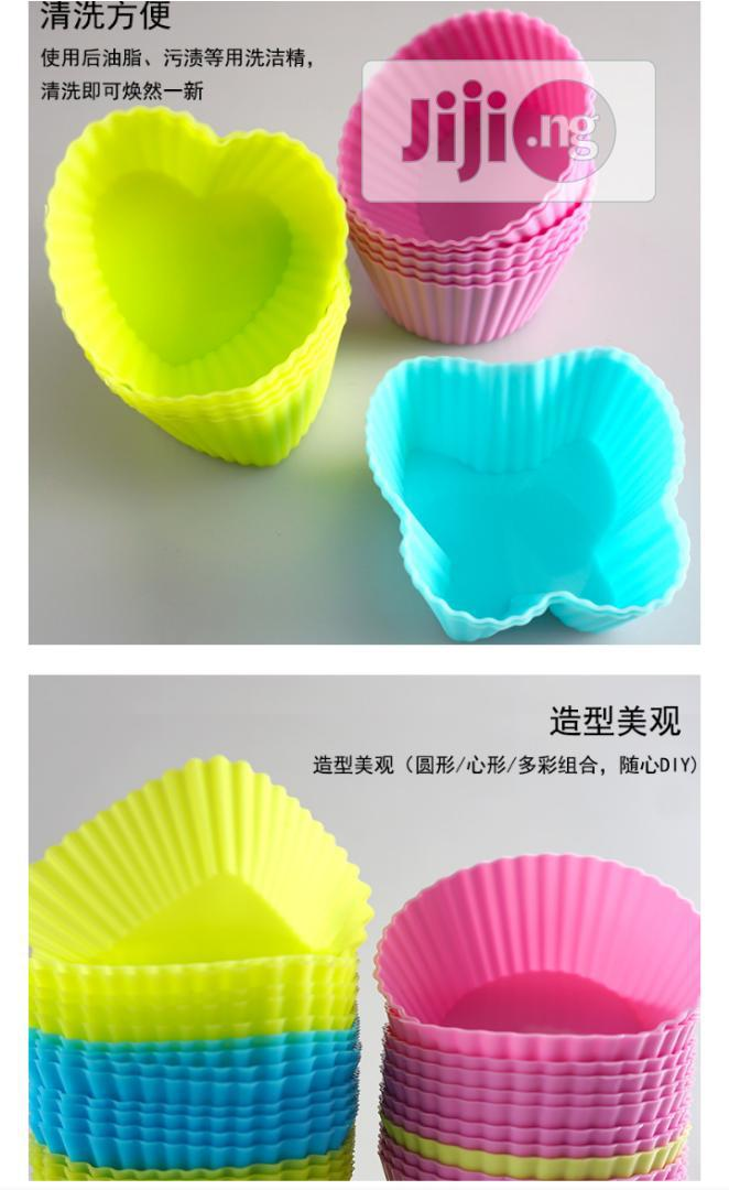 Silicone Cupcake Liners | Kitchen & Dining for sale in Ugheli, Delta State, Nigeria