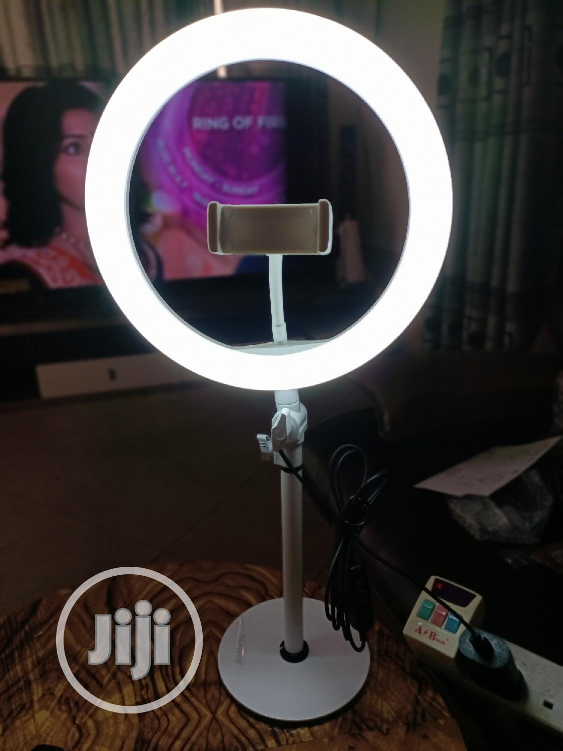 Neewer 10 Inch Table Top Ring Light | Accessories & Supplies for Electronics for sale in Oshodi, Lagos State, Nigeria