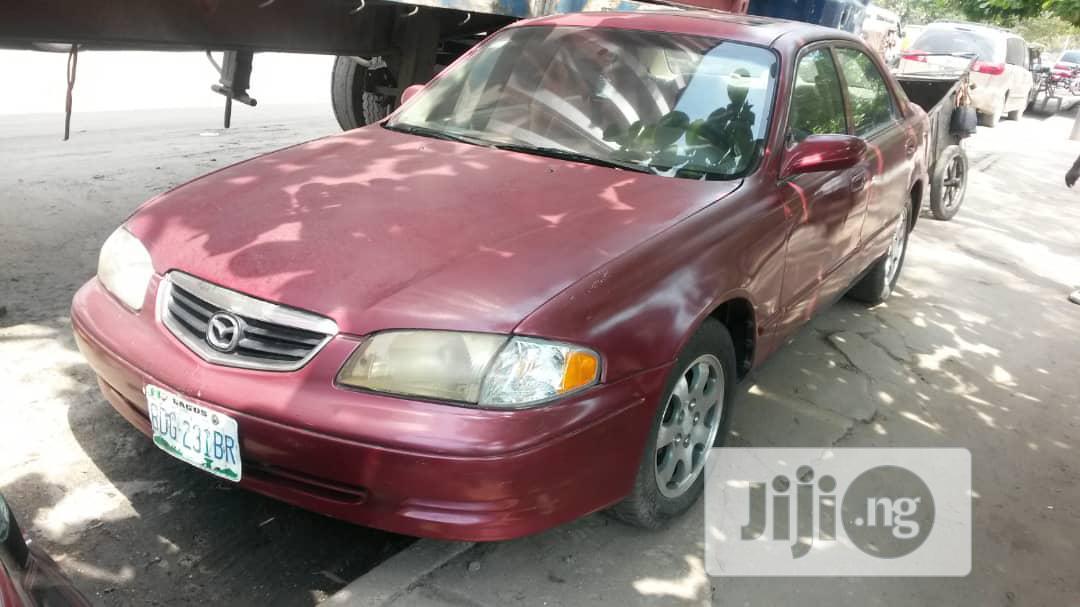 Mazda 626 1999 Red