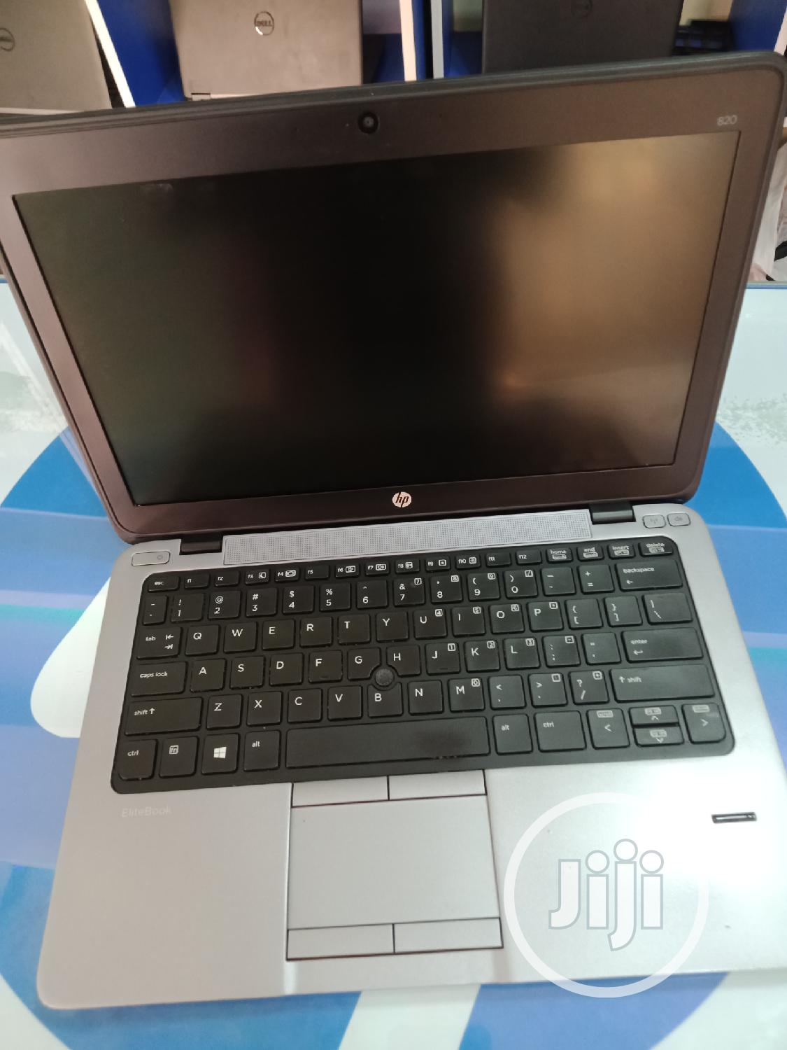 Laptop HP EliteBook 820 G1 4GB Intel Core I7 HDD 500GB | Laptops & Computers for sale in Wuse 2, Abuja (FCT) State, Nigeria
