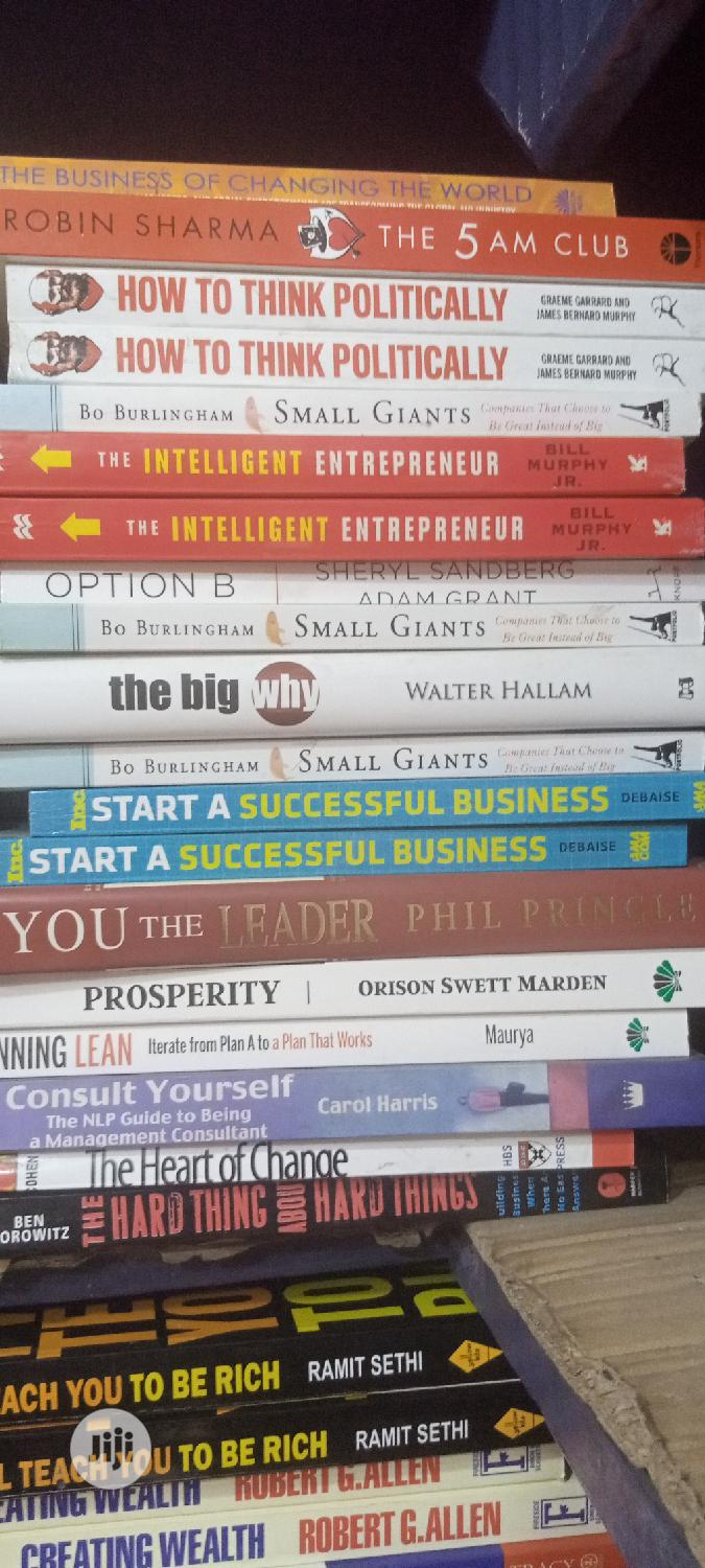 Collection of Motivational,Inspirational and Self-Help Books   Books & Games for sale in Yaba, Lagos State, Nigeria