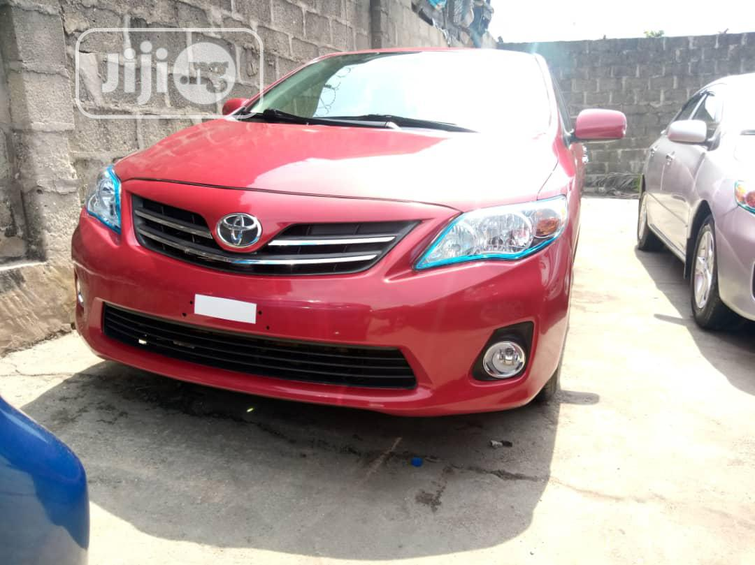 Toyota Corolla 2010 Red
