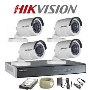 Hikvikvision 4 Channels Combo Kit | Security & Surveillance for sale in Lagos State, Ikeja