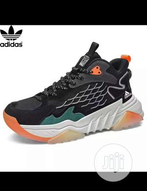 Black Adidas Sneakers for Men   Shoes for sale in Imo State, Orlu