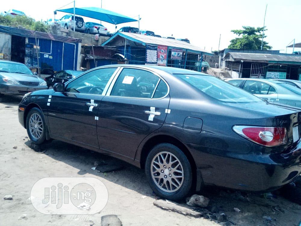 Lexus ES 2003 330 Black | Cars for sale in Apapa, Lagos State, Nigeria