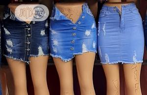Unique Short Jeans Skirt   Clothing for sale in Lagos State, Surulere