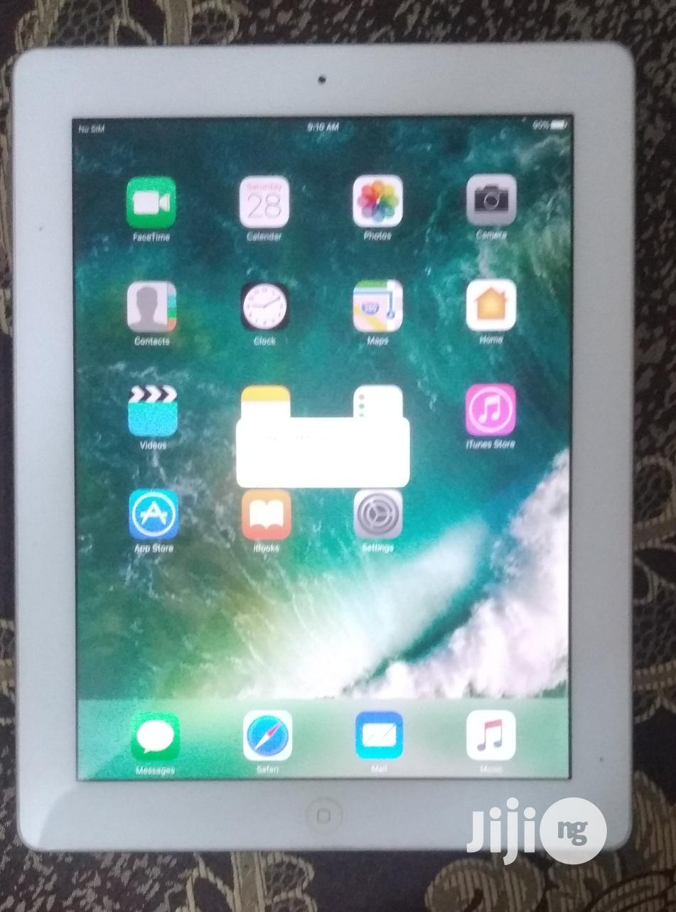 Apple iPad 4 Wi-Fi + Cellular 32 GB White | Tablets for sale in Port-Harcourt, Rivers State, Nigeria
