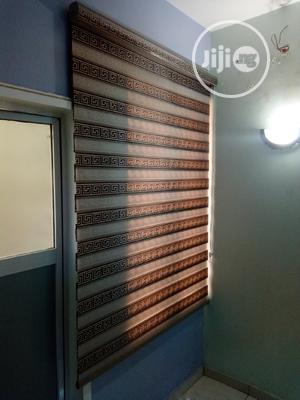 Brown Versage Day and Night Window Blind   Home Accessories for sale in Lagos State, Surulere