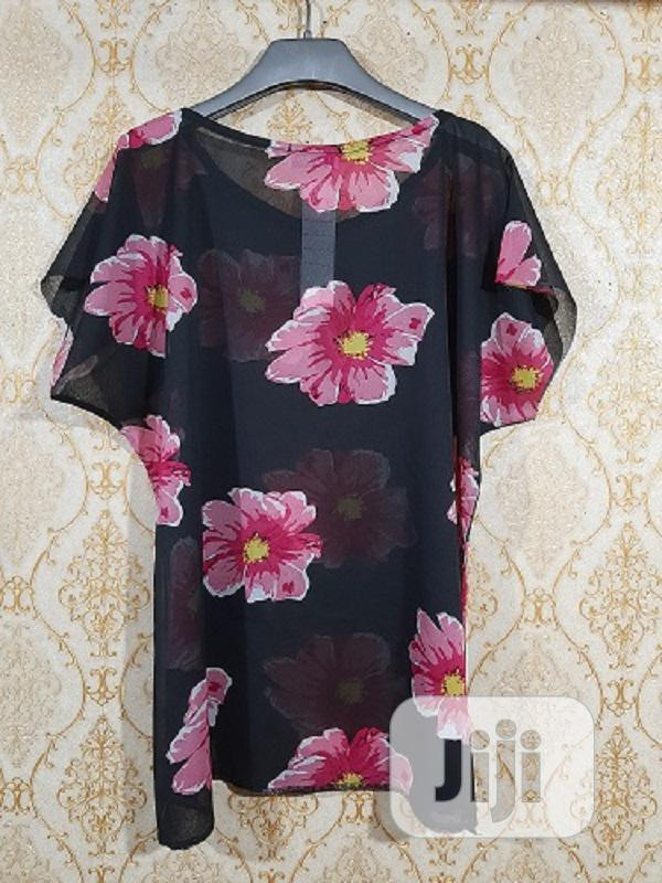 Archive: Ladies Floral Chiffon Top