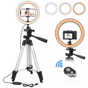 10inch LED LED Ring Light With 100 Cm Tripod Stand Lighting | Accessories & Supplies for Electronics for sale in Lagos State, Alimosho