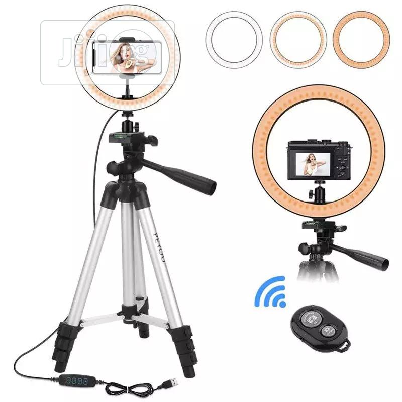 10inch LED LED Ring Light With 100 Cm Tripod Stand Lighting