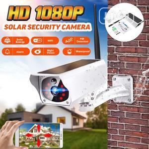 Solar Night Vision Audio PIR Alarm CCTV Battery Wifi Camera | Security & Surveillance for sale in Lagos State, Ajah