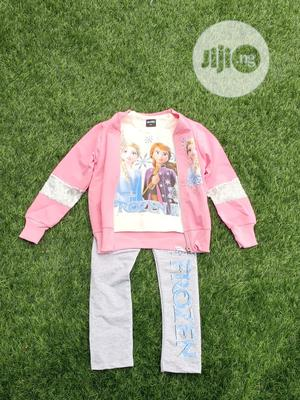Frozen Inspired Cartoon Casual Wear for Girls. | Children's Clothing for sale in Abia State, Aba North