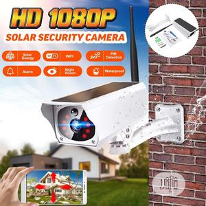 1080P HD Outdoor IP67 Waterproof Solar Wifi IP Camera | Security & Surveillance for sale in Abuja (FCT) State, Asokoro