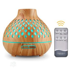 Led Colorful Humidifier Air Purifier With Night Light Wood | Home Appliances for sale in Lagos State, Surulere