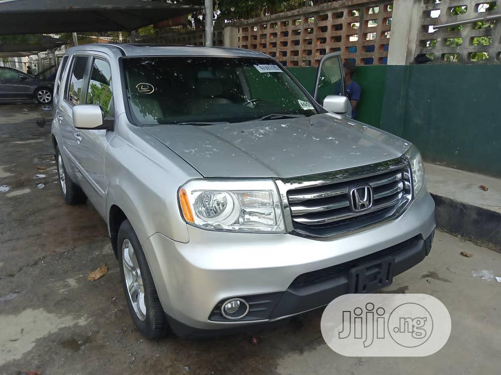 Honda Pilot 2012 Silver   Cars for sale in Kosofe, Lagos State, Nigeria