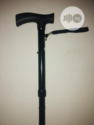 Foldable And Adjustable Walking Stick   Medical Supplies & Equipment for sale in Lagos State, Ikeja