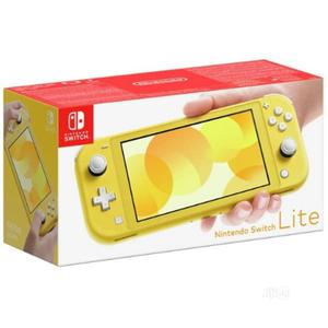 Nintendo Switch Lite Handheld Console - Yellow   Video Game Consoles for sale in Lagos State, Ikeja