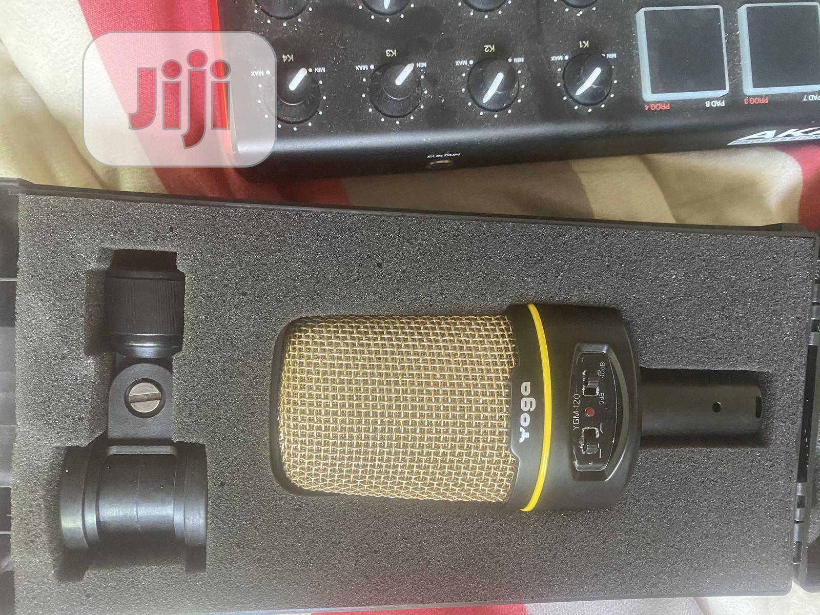 Archive: Akai Mpk Mini And Ygm-120 Mic New