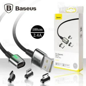 Baseus Zinc Magnetic Cable Kit for Lightning - | Accessories for Mobile Phones & Tablets for sale in Lagos State, Ikeja