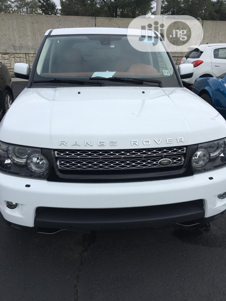 Land Rover Range Rover Sport 2012 HSE LUX White