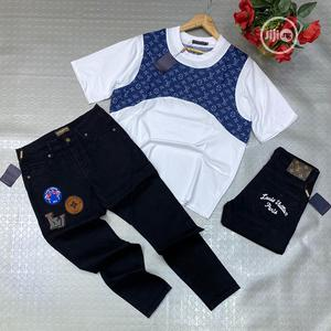 Authentic LV Jeans and T-Shirts | Clothing for sale in Lagos State, Alimosho