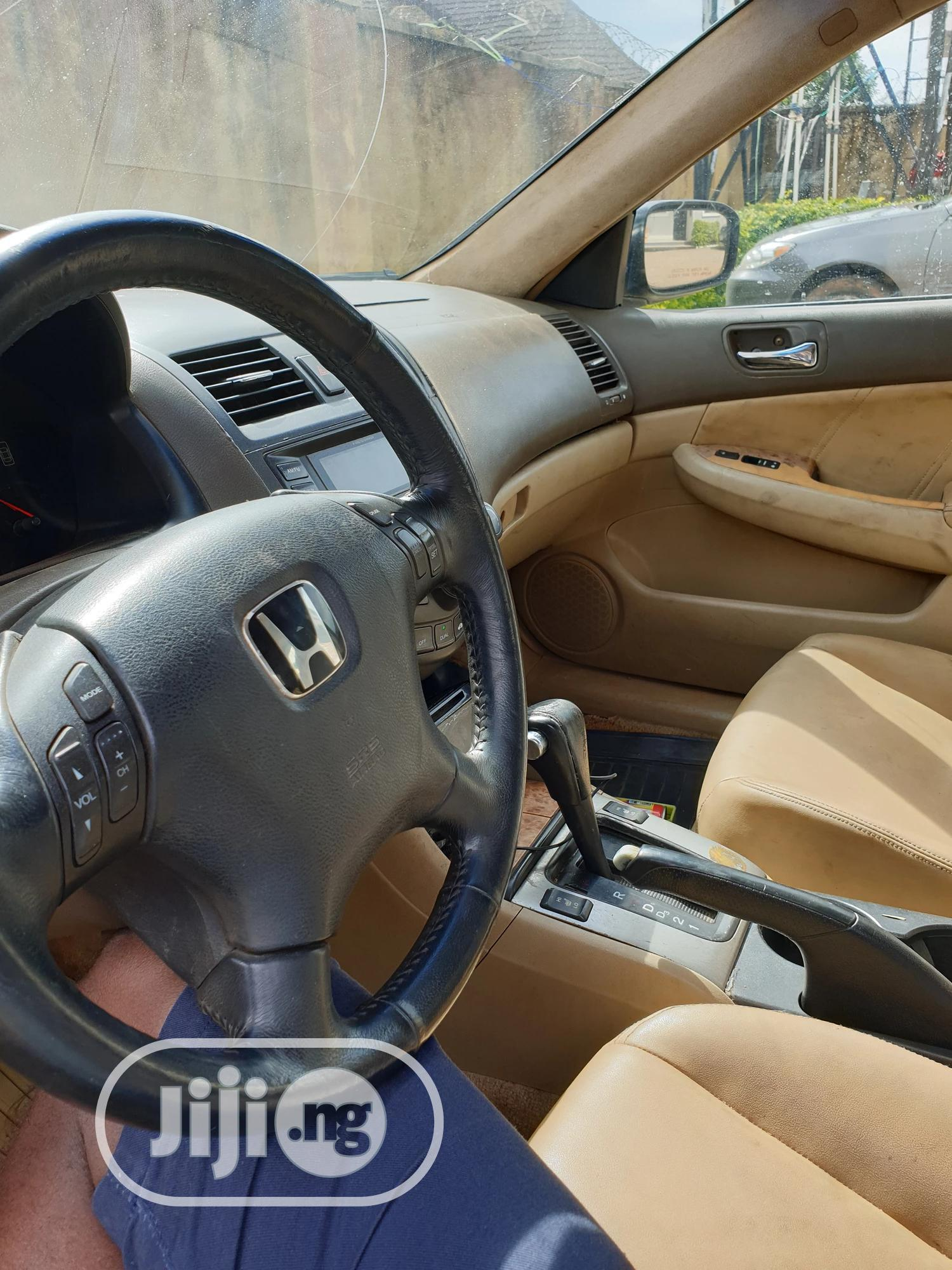 Honda Accord 2004 Automatic Gray | Cars for sale in Jos, Plateau State, Nigeria